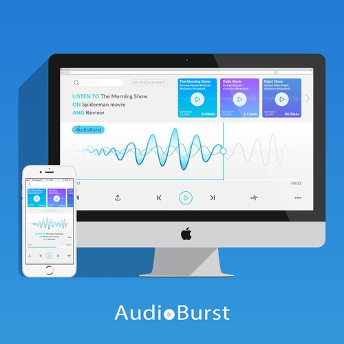 Audio App design