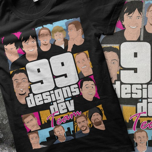 Design the 99designs dev team t-shirt!