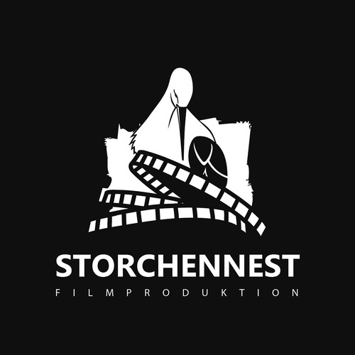 logo concept for a film production company