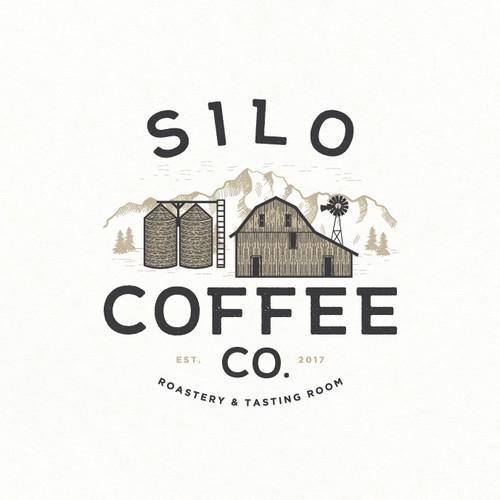 Logo design for coffee company