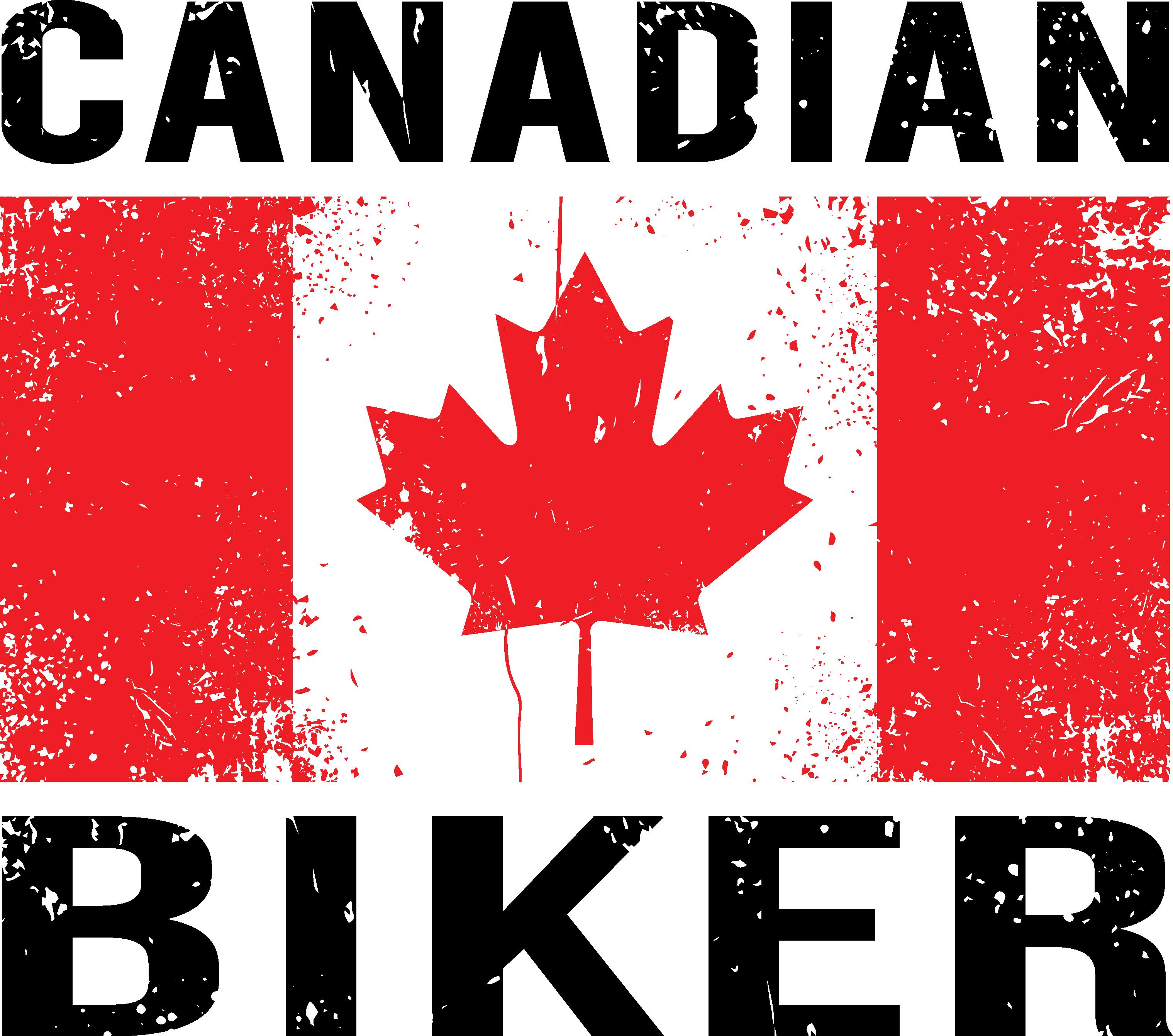 Canadian Biker T-shirt