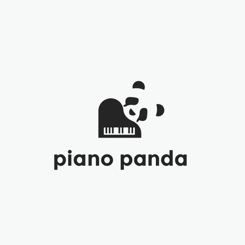 Unique Logo Concept for Piano Panda