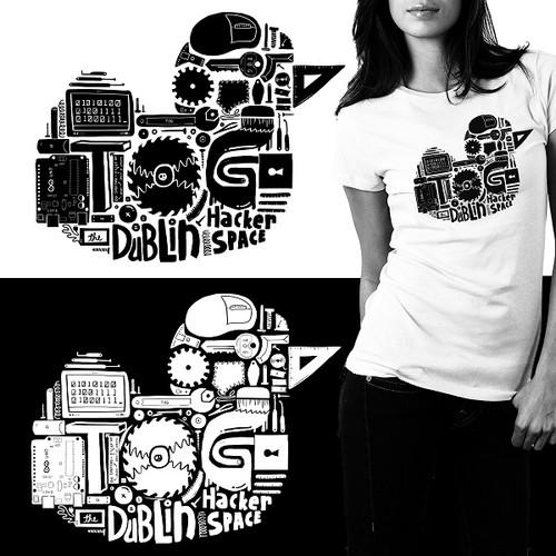 Logo Design for Dublin Hackerspace