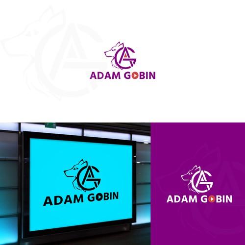 bold and awosome logo adam gobin