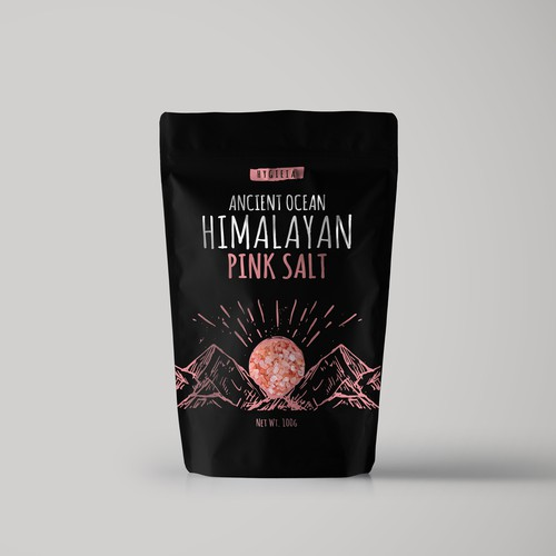 Pink Salt Packaging contest