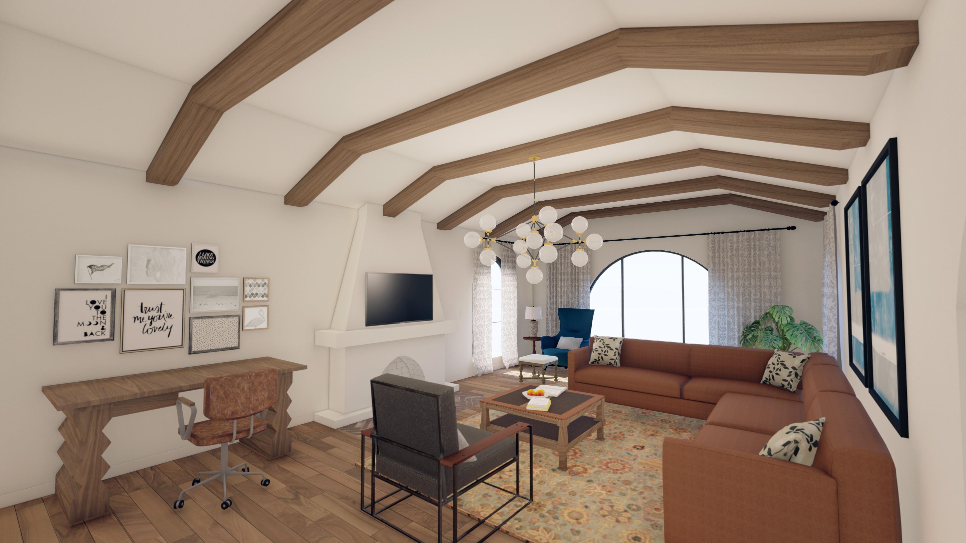 Interior Renderings- Residential changes