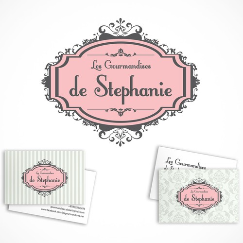 Classic logo for Les Gourmandises de Stephanie
