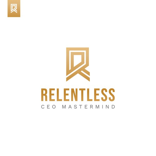 'R' Lettermark Design (For Sale)