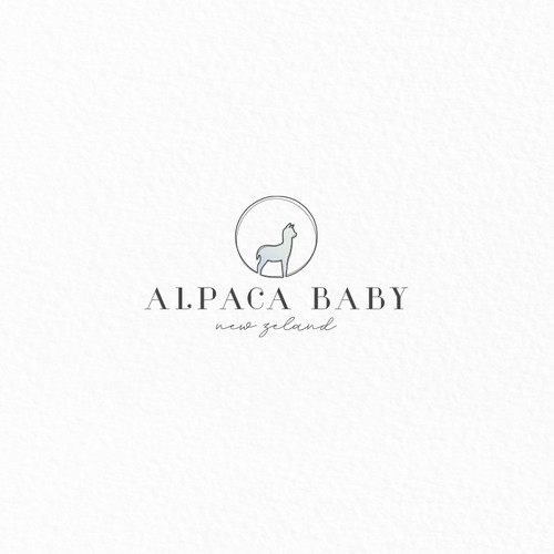 Alpaca Baby New Zeland | logo concept