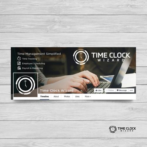 Time Clock facebook banner