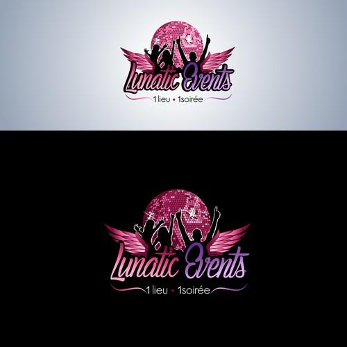 Créer un logo subtile et sophistiqué pour le groupe évènementielLunatic Events.