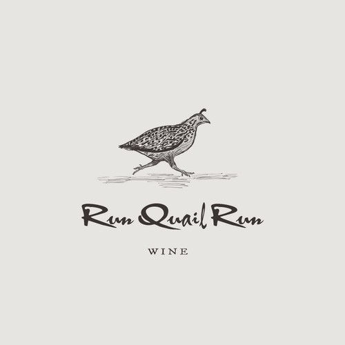 Logo design for a small vineyard