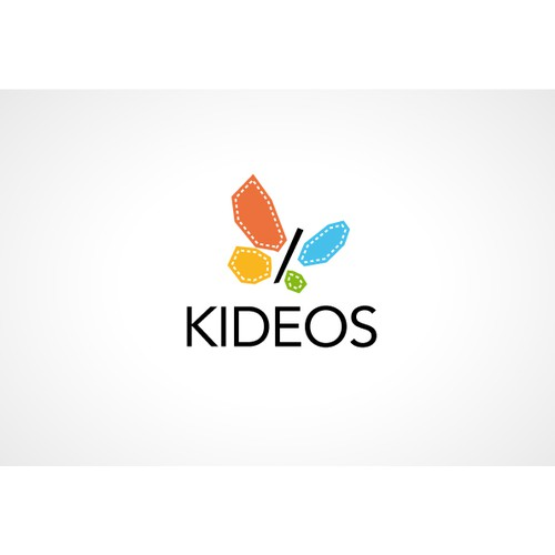 Cute Fun Logo for Video website for kids - KIDEOS