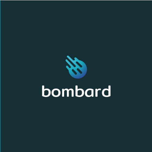 Playful and dynamic logo for IT company: Bombard
