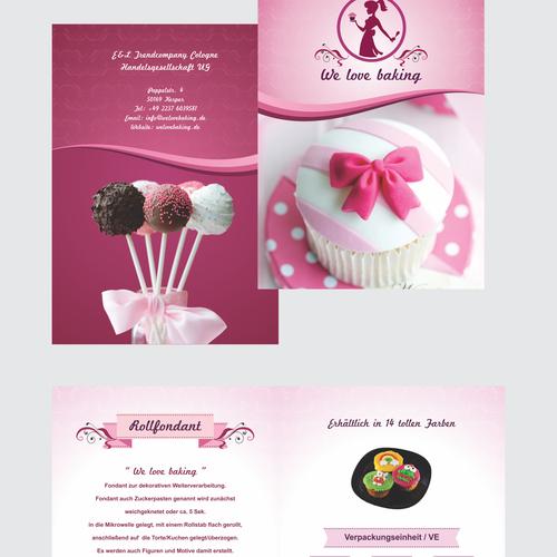 Brochure for Home Bakery Range
