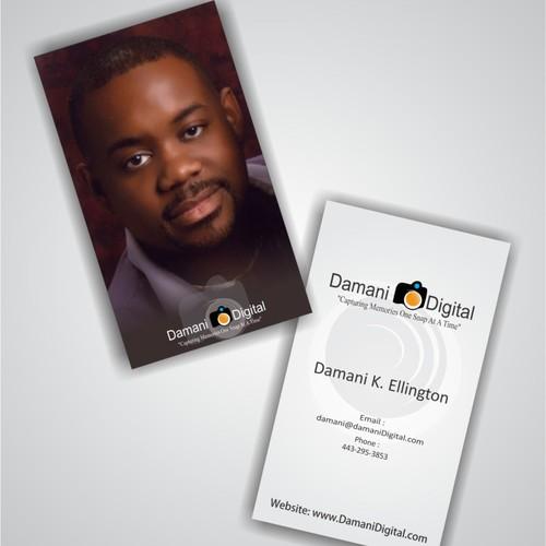 business card for Damani K. Ellington