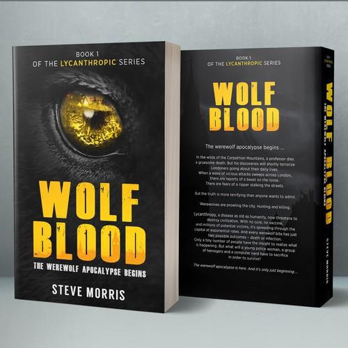 Book cover concept for Steve Morris