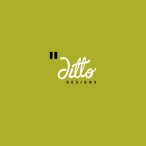 ditto design logo