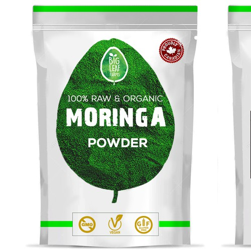 VEGAN SUPERFOOD POWER PROTEIN package design