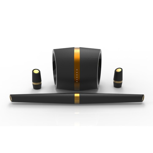 Premium wireless  speaker system design