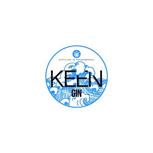 Logo fo Keen Gin