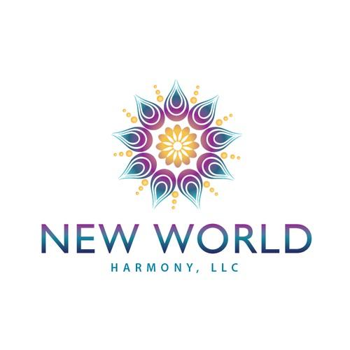 Spiritual and New Age logo fpr healer