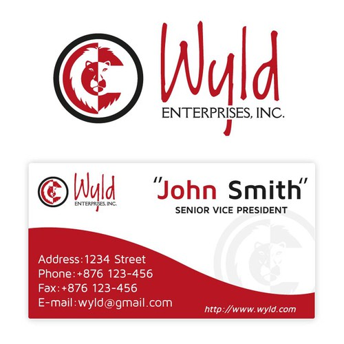 Create a Logo/Brand identity for Wyld Enterprises, Inc.