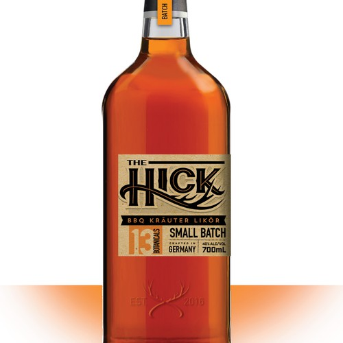Hick Small Batch Whiskey