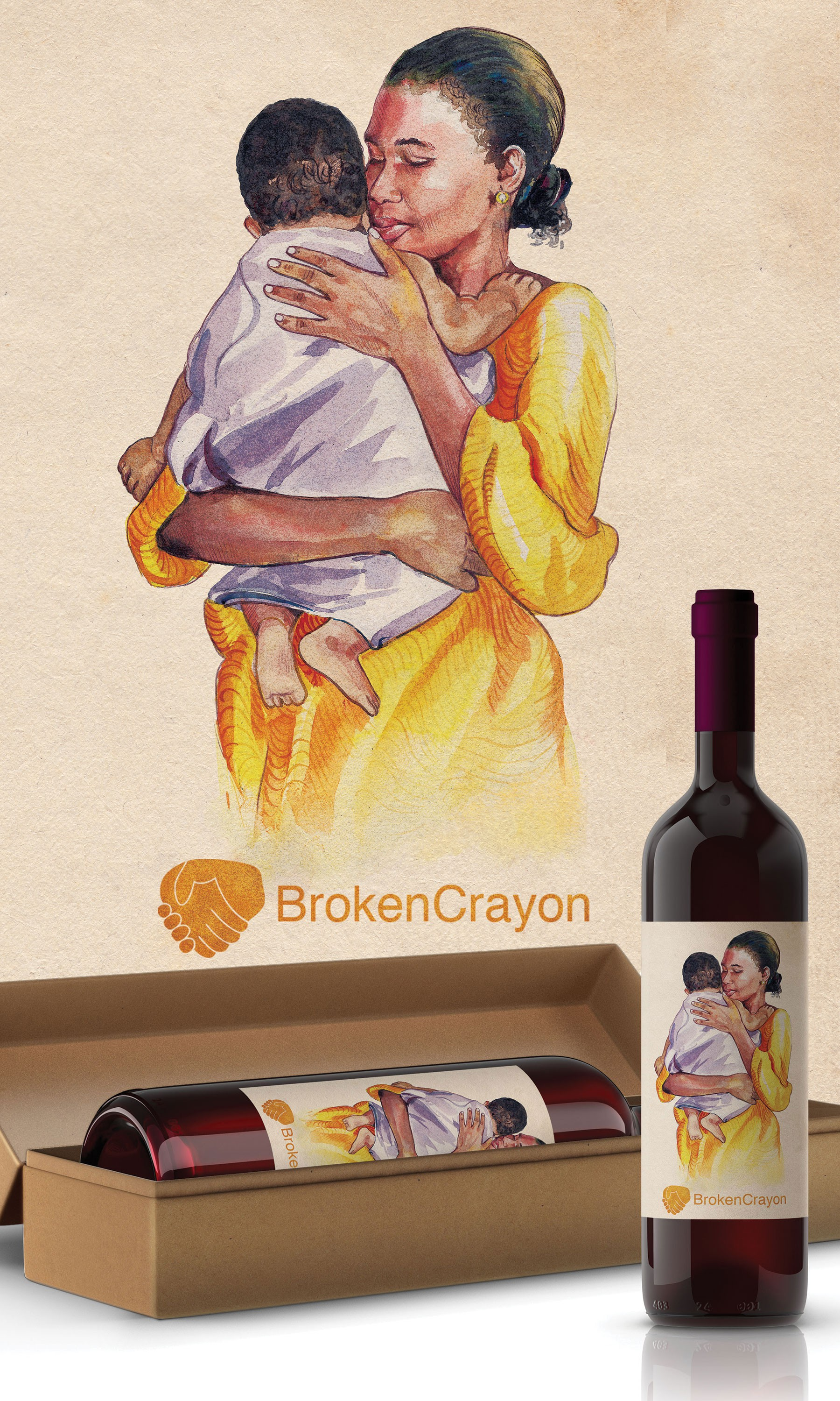 Wine Label For Non-Profit