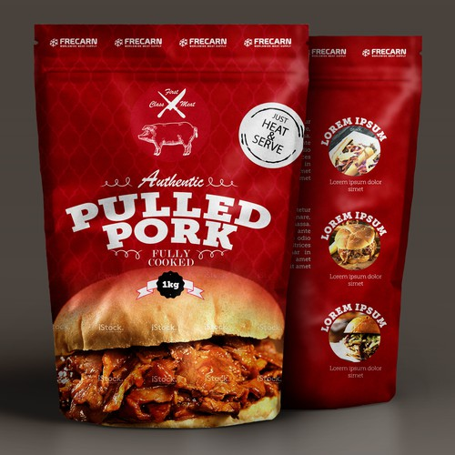 PACKAGING - PLASTIC BAG for PULLED PORK-