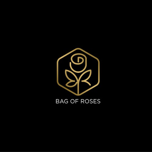 Bag of Roses Logo