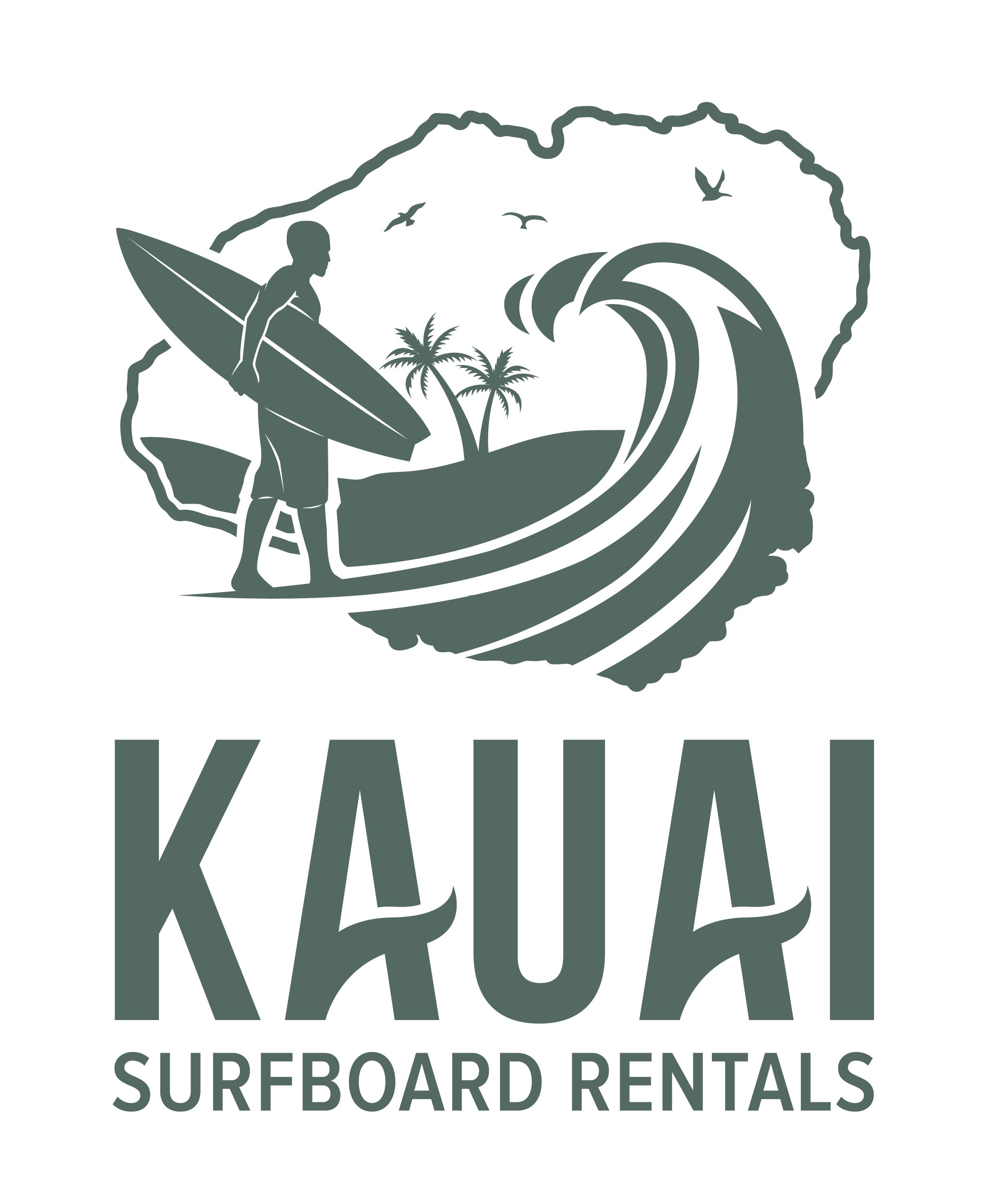 Kauai Surfboard Rentals needs a cool logo