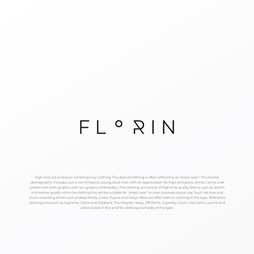 Logo design for Florin