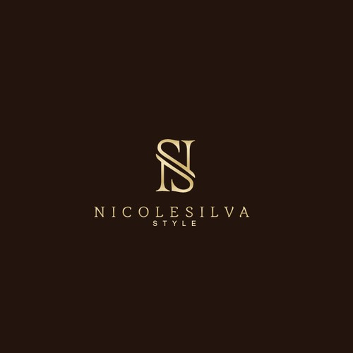 Personal branding logo for fashion and lifestyle expert