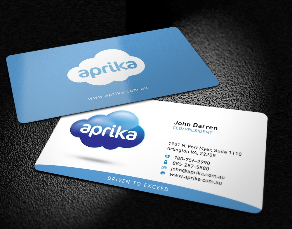 stationery for Aprika Business Solutions