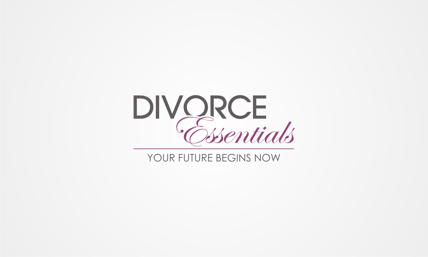 Create the next logo for Divorce Essentials