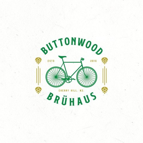 concept logo for buttonwood