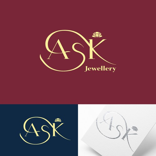 Hand-lettered logotype