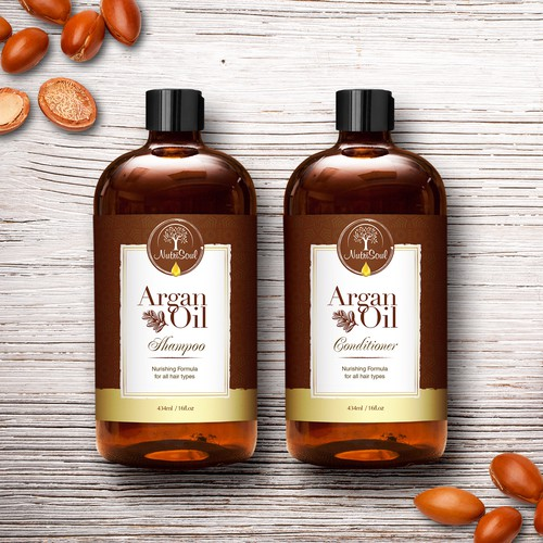 Nutrisoul Shampoo and Conditioner