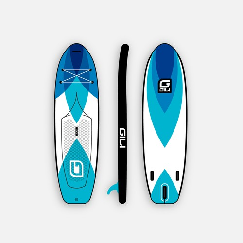Paddle board design concept