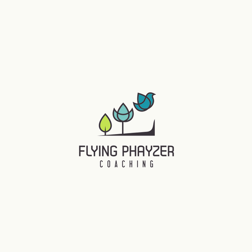 Logo concept for coaching business