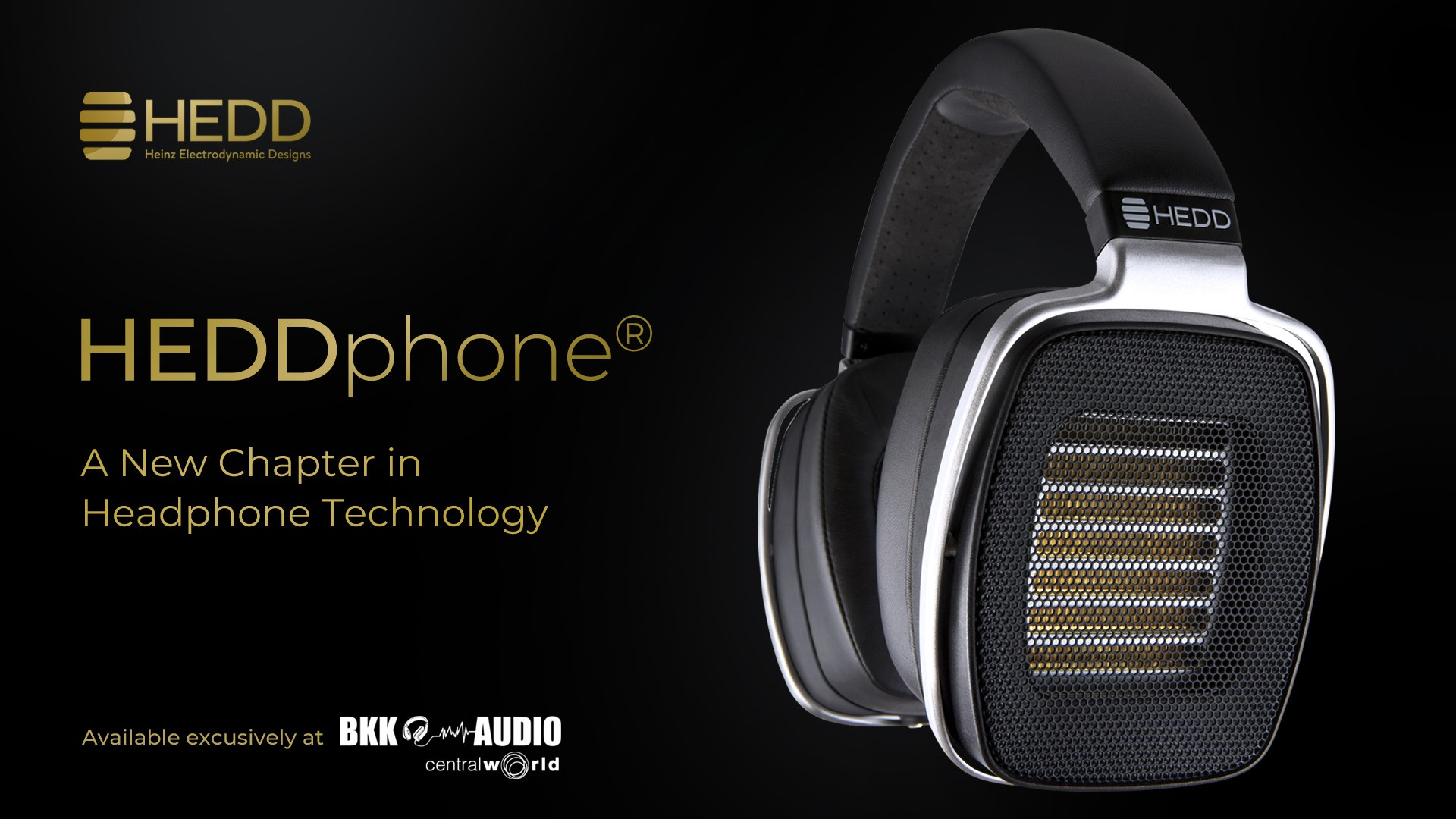 Banners ads HEDD - HEDDphone The Air Motion Transformer (AMT) headphone