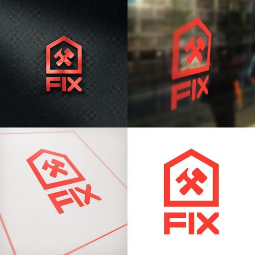 FIX Home Repair Logo