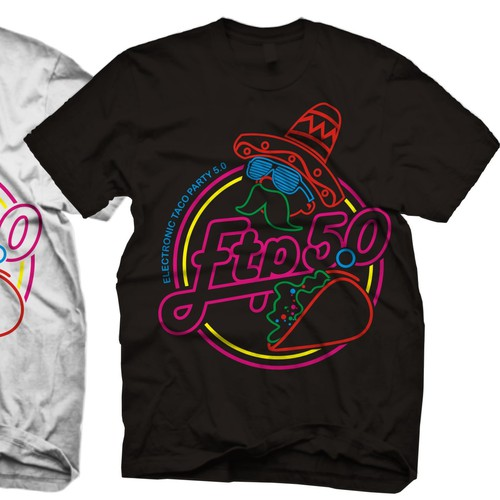 Electronic Taco Party shirt