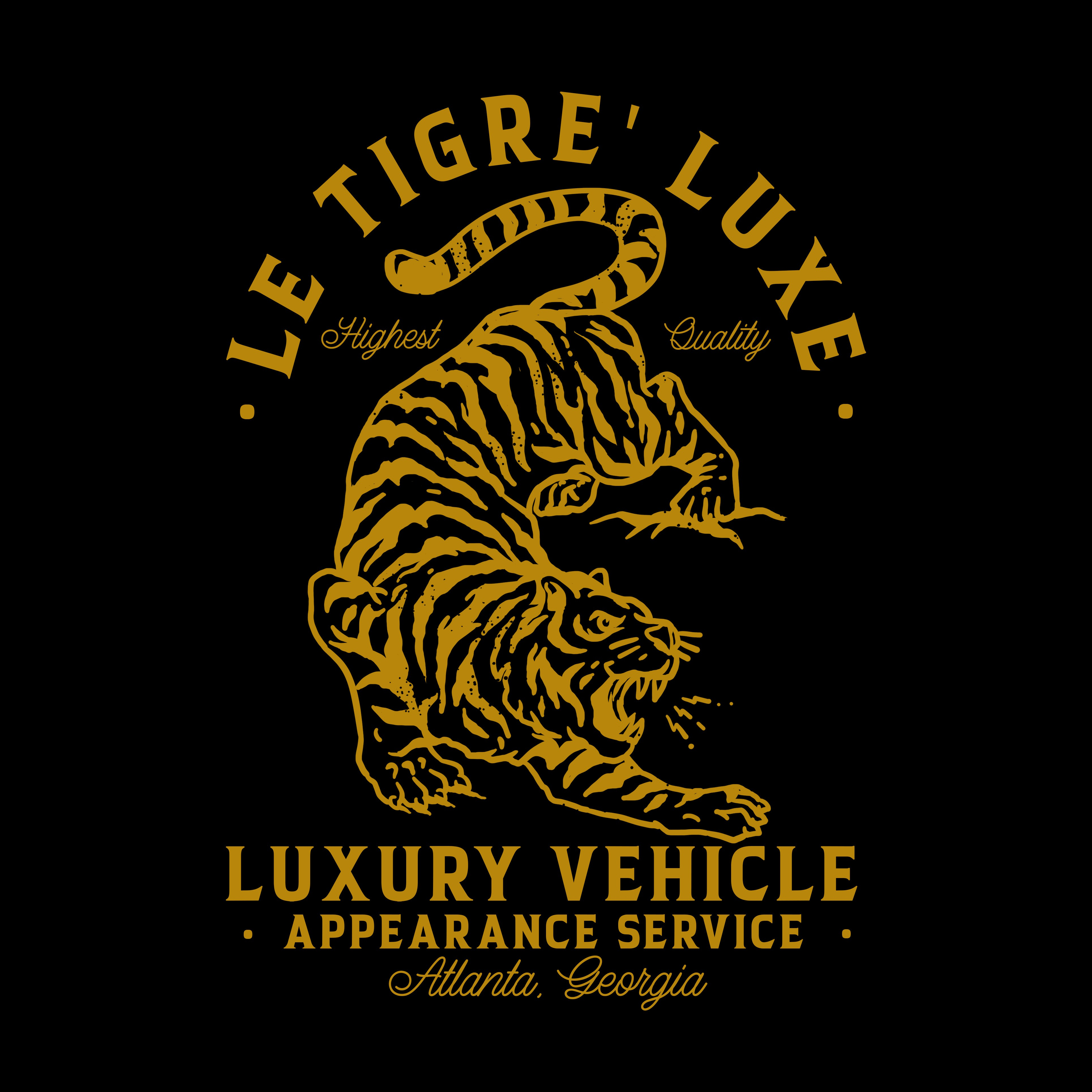 Design A LOGO, for a LUXURY VEHICLE DETAILING SERVICE