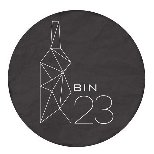 Logo for liquor store and wine tasting restaurant