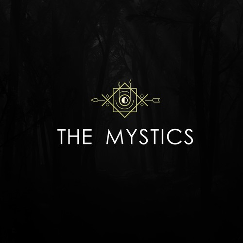 Logo for band ald THE MYSTICS