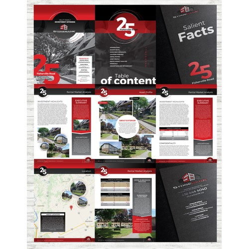 Cutting Edge Booklet/Brochure Required for Commercial Brokerage ::STONEBANK