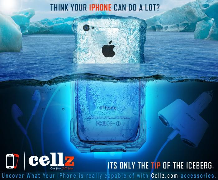 A killer banner ad for CELLZ.com