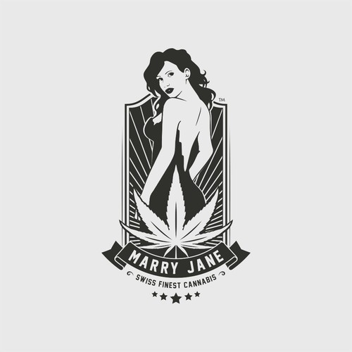 Marry Jane Swiss Finest Cannabis Logo